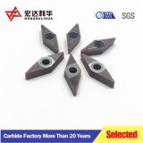 Fresadoras CNC de carburo de tungsteno inserciones para herramientas de mecanizado