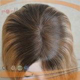 Parrucca ebrea superiore di seta della pelle bionda di Humen (KFS20086)