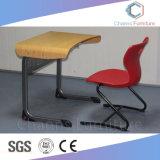 Estudante Azul de madeira Cadeira Mobiliário Combo sobre a escola (CAS-SD1834)