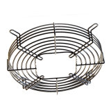De soudage de précision en acier du moteur de grille de protection de ventilateur avec enduit de PVC
