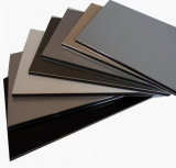 PVDF panneau composite aluminium feuille ACP pour revêtement mural extérieur (1220*2440*3mm)