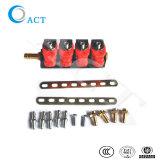 Hochleistungs- 3 Einspritzdüse-Schiene der Ohm-Elektronik-Einspritzung-Systems-Installationssatz-Taten-L02 CNG