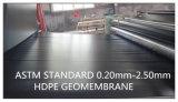 Waterdicht makend Materiële HDPE Ondoordringbare Geomembrane 1.5mm voor de Tank van de Olie