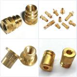 Kundenspezifische Entwurfs-Präzision Soem-Messingmetall-CNC-maschinell bearbeitenprägedrehenteile