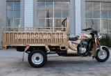 Tricycle de cargaison de roue de l'essence trois de classique des ventes 2017 d'usine