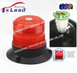 12V-110V Lente PC Âmbar lâmpadas de luz de sinalização de aviso de Strobe para carro