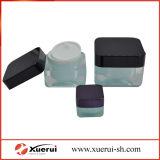 30, vaso crema acrilico cosmetico quadrato 50g