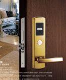 Bloqueo de puerta elegante del hotel PVD RFID de la tarjeta de oro de A6-903