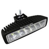 indicatore luminoso del lavoro di 18W Epistar LED per l'indicatore luminoso di funzionamento dell'automobile dell'indicatore luminoso di nebbia del camion LED