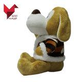 Brinquedo enchido do cão de filhote de cachorro do luxuoso dos miúdos animal macio Cuddly
