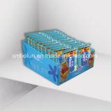 Soportes de visualización calientes de suelo de la cartulina del papel de tejido de la venta en el precio al por mayor
