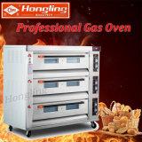 forno professionale di cottura del gas della strumentazione di approvvigionamento 9-Tray con il prezzo di fabbrica