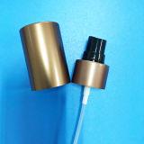 pompe en aluminium d'éclaboussure de parfum de chapeau de 24mm pleine