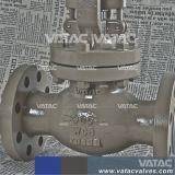 Klep van de Bol van het Koolstofstaal van Vatac De Van een flens voorzien
