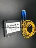 光ファイバGponテレコミュニケーション1X2のプラスチックの箱PLCのディバイダー
