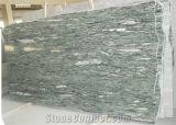Mattonelle verdi del granito del Yunnan lastre verdi cinesi del granito delle grandi