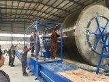 El FRP GRP GRP buque tanque de plástico reforzado con fibra de la máquina Línea de producción de máquina de bobinado