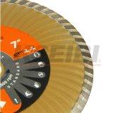 Kseibi 파 터보에 의하여 보강되는 원뿔 디스크에 의하여 소결되는 다이아몬드 디스크