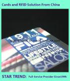 Cartão de renda com tarjas magnéticas de plástico feitas