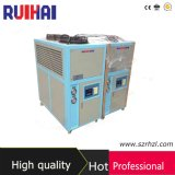 Capacidade refrigerando de refrigeração ar 1315kcal/H do refrigerador 1.5kw/0.4ton da qualidade superior 1/2HP para o laboratório que processa o refrigerador industrial do campo