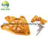 CNC機械化のオートバイの部品のためのアルミニウムエンジンの側面カバー