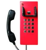 Telefono pubblico del telefono del cavo dell'ospedale Emergency corazzato da tavolino Auto-Dial del telefono