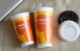 Gran capacidad de 32oz desechables de bebidas frías taza con Flexo Print