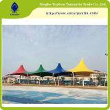 struttura della membrana di parcheggio dell'automobile della tela incatramata 900GSM per il parasole e la tenda