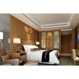 ホテルの寝室セットの純木の顧客用家具(S-07)