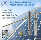 12V 80W 3inchの螺旋形の回転子BLDCの太陽浸水許容のポンプ施設管理、潅漑ポンプ、ねじポンプ
