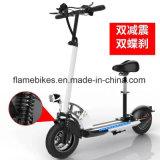 El aluminio mini bicicleta eléctrica con 2 ruedas