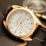 Montres imperméables à l'eau de quartz de montre de l'usine H342 de qualité de modèle de montre en cristal bon marché d'hommes