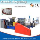Três máquina da película plástica do estágio PP/PE/linha de granulagem da peletização
