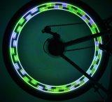 28 изменений СИД RGB 30 проблескивают свет колеса спицы велосипеда Bike