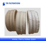 Gesponnener geklebter gefalteter Nomex Polyester-Filtereinsatz