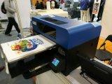 Печатная машина тенниски Customerized высокой точности сразу с белыми чернилами