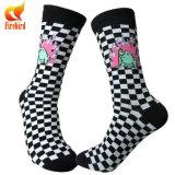 Оптовая торговля смешные ромб носки носки одежды высокого качества