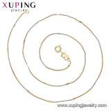 Collana placcata oro Tri-Color 44713