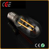 90-260V 2W E14 T25 de filamentos de luz de lámpara LED Bombillas LED Bombillas LED