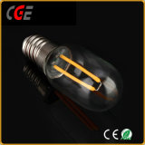 AC85-260V 2W E14 T25 필라멘트 LED 전구 LED 전구