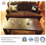 Meubilair het in traditionele stijl van het Hotel met de Koffietafel van de Woonkamer (yb-e-21)