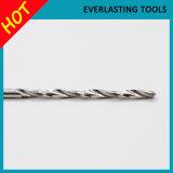 Morceaux de foret de torsion d'acier à coupe rapide pour le perçage en métal