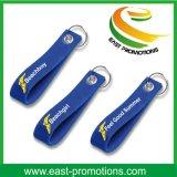 Ricamo su ordinazione Keychains del feltro delle lane di marchio per promozionale