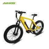 26pulgadas oculta de la batería 36V 350W neumático Fat bicicleta eléctrica del motor de mediados de bicicleta eléctrica