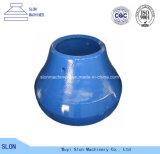 Hohes Mangan Sandvik CH410 konkav und Umhang-Kegel-Zerkleinerungsmaschine-Teile