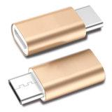 Micro- USB van het aluminium Wijfje aan USB 3.1 Micro- USB aan USB C van de Convertor van de Adapter van het Type C Mannelijke Adapter