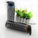 De aangepaste Handbediende Plastic Fles van het Water van het Stro 750ml Ruimte