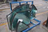 カーテン・ウォールのための曲げられた絶縁されたガラス