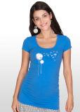 민들레 인쇄 모성 t-셔츠