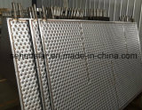 Économies d'énergie soudées au laser La plaque de l'échangeur de la plaque de refroidissement